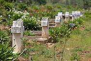 Photo Randy Vanderveen.Rwanda.A genocide memorial in Rwanda.