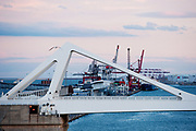 The Barcelona port is seen at Barcelona, in Spain, on Sunday, June 9, 2013.  Photographer: Víctor Sokolowicz/Bloomberg.