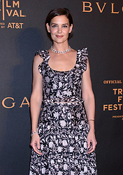 BVLGARI Tribeca Film Festival Screening The Conductor and the Litas iPIC Theater, NY. 26 Apr 2018 Pictured: Katie Holmes. Photo credit: RCF / MEGA TheMegaAgency.com +1 888 505 6342