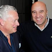 NLD/Amsterdam/20120213 - Presentatie Louder Magazine met als hoofdredacteur Bram Moszkowicz, Bram en John van den Heuvel