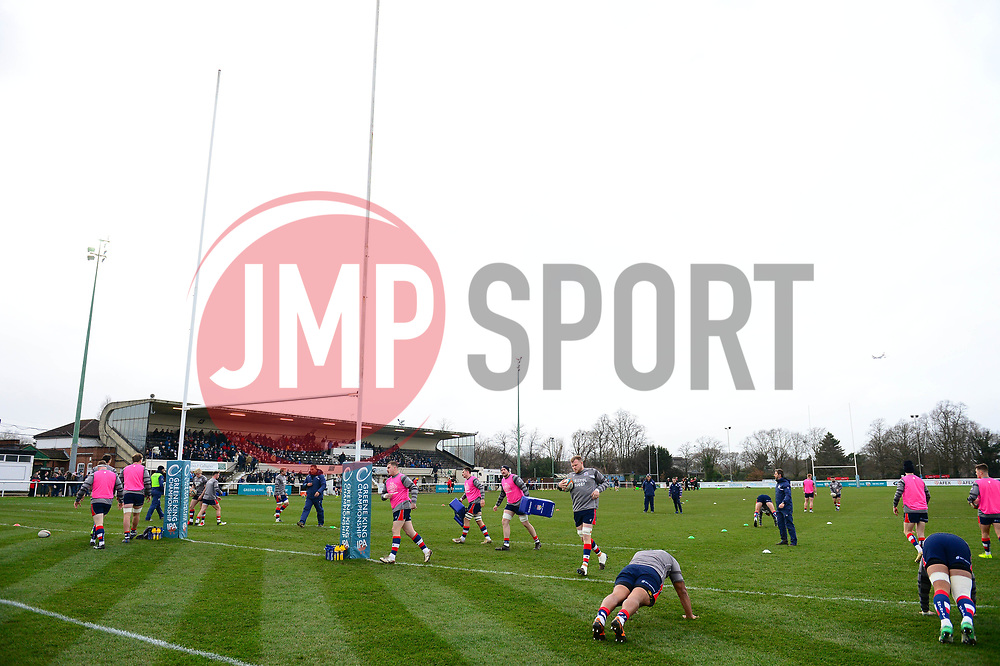 A general view of Richmond the athletic ground  - Mandatory by-line: Dougie Allward/JMP - 30/12/2017 - RUGBY - The Athletic Ground - Richmond, England - Richmond v Bristol Rugby - Greene King IPA Championship