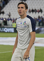 June 4, 2018 - Turin, Italy - Federico Chiesa  during the International Friendly match between Italy v Holland at the Allianz Stadium on June 4, 2018 in Turin, Italy. (Credit Image: © Loris Roselli/NurPhoto via ZUMA Press)
