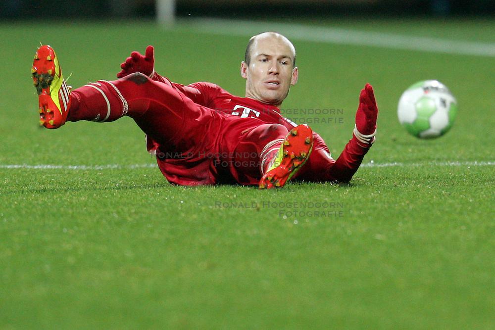 20-12-2011 VOETBAL: DFB POKAL VFL BOCHUM - FC BAYERN MUNCHEN: BOCHUM<br /> Achtste finale beker / Arjen Robben<br /> ***NETHERLANDS ONLY***<br /> ©2011-FRH- NPH/Mueller