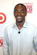 Anthony Mackie(Festival Ambassador) at ' The Young Hollywood ' panel at The 2008 American Black Film Festival  held at The Writers Guild of America on August 9, 2008...The Festival film slate is primarily composed of world premieres (shorts, narrative features and documentaries), positioning it as the leading film festival in the world for African American and urban content. Since its inception ABFF, has screened over 450 films and has rewarded and redefined artistic excellence in independent filmmaking.