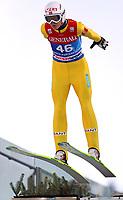 Hopp , 31. desember 2013 , <br />  - FIS Weltcup der Herren, Vierschanzen-Tournee, Training und Qualifikation. Rune Velta (NOR)<br /> Norway only