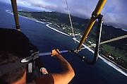 Hanggliding, Avarua Town, Rarotonga, Cook Islands<br />