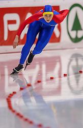 04-01-2003 NED: Europees Kampioenschappen Allround, Heerenveen<br /> 1500 meter dames / Bianca Anghel ROU