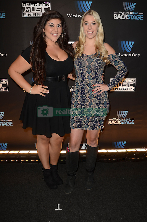 Westwood One Backstage at the American Music Awards Day 2 at the L.A. Live Event Deck. 19 Nov 2016 Pictured: Hadyae, DJ Snow. Photo credit: David Edwards / MEGA TheMegaAgency.com +1 888 505 6342