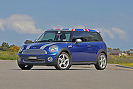 2008 Mini Cooper Clubman - Lightning Blue Metallic.Braeside Industrial Estate, Melbourne, Victoria .4th of October 2009.(C) Joel Strickland Photographics.Use information: This image is intended for Editorial use only (e.g. news or commentary, print or electronic). Any commercial or promotional use requires additional clearance.