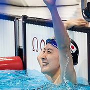TOKYO, JAPAN - JULY 28: Yui Oahshi of Japan winning the gold medal in the 200m Individual Medley for women during the Swimming Finals at the Tokyo Aquatic Centre at the Tokyo 2020 Summer Olympic Games on July 28, 2021 in Tokyo, Japan. (Photo by Tim Clayton/Corbis via Getty Images)
