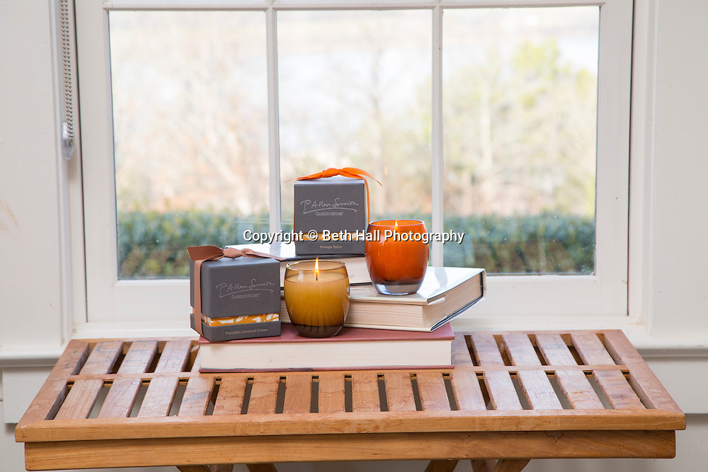 Product photography for P. Allen Smith in Little Rock, Arkansas.