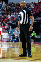 NORMAL, IL - February 08:  Ervin Wilson during a college basketball game between the ISU Redbirds and the Indiana State Sycamores on February 08 2020 at Redbird Arena in Normal, IL. (Photo by Alan Look)