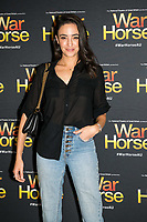 Abbie Way at the opening night of War Horse, at the Lyric Theatre, Star City on February 18, 2020 in Sydney, Australia
