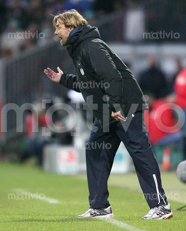 Fussball  1. Bundesliga  Saison 2006/2007 Trainer Juergen KLOPP (FSV Mainz 05)