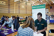 Windsor High School and Sonoma County Office of Education co-sponsored the 2011 Sonoma County College & Career-Ready Fair on Sept. 13. Windsor High School assistant principal Chris Vetrano has organized the first five Sonoma County College Fairs at WHS.
