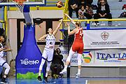 Julia Reisingerova, Elisa Penna<br /> Italia Italy - Repubblica Ceca Czech Republic<br /> FIBA Women's Eurobasket 2021 Qualifiers<br /> FIP2019 Femminile Senior<br /> Cagliari, 14/11/2019<br /> Foto L.Canu / Ciamillo-Castoria