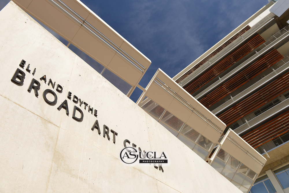 ASUCLA Photography Archive-  Exterior image of Eli and Edith Broad Art Center, University of California , Westwood, California. This building is part of the UCLA School of Arts and Architecture.<br /> Copyright: ASUCLA