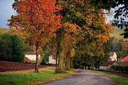 CZECH REPUBLIC VYSOCINA NEDVEZI 7OCT12 - Autumn landscape near the village of Nedvezi, Vysocina, Czech Republic...jre/Photo by Jiri Rezac..© Jiri Rezac 2012