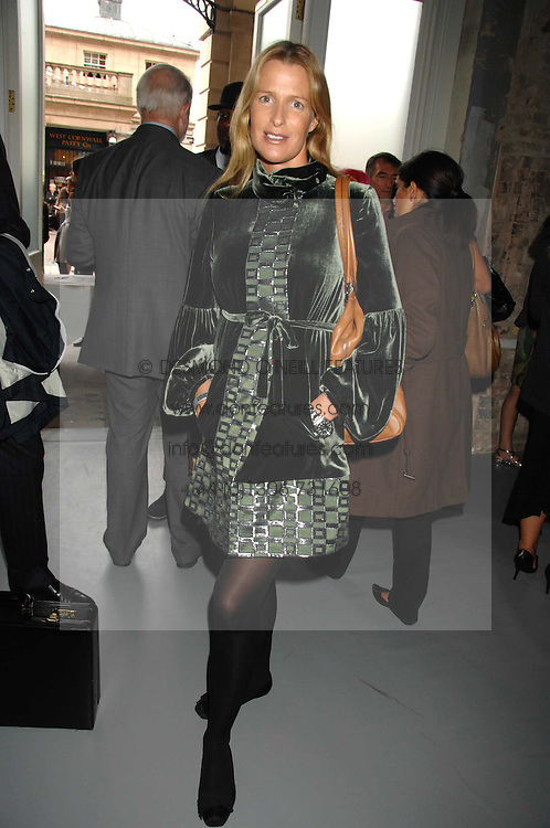 INDIA HICKS at Fashion Fringe 2007 held at 1 The Piazza, Covent Garden, London on 20th September 2007.<br /><br />NON EXCLUSIVE - WORLD RIGHTS