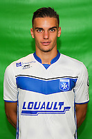 Romain Montiel of Auxerre during Auxerre squad photo call for the 2016-2017 Ligue 2 season on September, 7 2016 in Auxerre, France ( Photo by Andre Ferreira / Icon Sport )