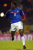 Fotball<br /> Treningskamp - Privatlandskamp<br /> Belgia v Frankrike<br /> 18.02.2004<br /> Foto: Digitalsport<br /> Norway Only<br /> <br /> LOUIS SAHA (FRA)