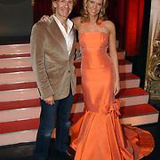 Finale Nationaal Songfestival 2005, Addy van den Krommenacker en presentatrice Nance Coolen