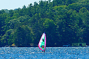 Windsurfing on Lake of Bays<br />
