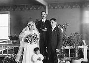 "9707-K249. written on original negative envelope: ""Bridal party."" Unalaska, June 22-24, 1917 Alaska"