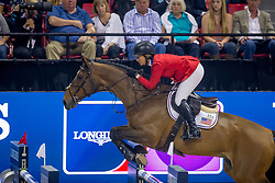 Madden Beezie, USA, Simon<br /> World Cup Final Jumping - Las Vegas 2015<br /> © Hippo Foto - Dirk Caremans<br /> 19/04/2015