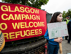 Home Office protest, Glasgow, 4 August 2018