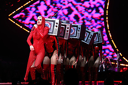 Katy Perry performs in concert at Madison Square Garden in New York.