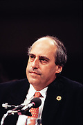 Congressmen Dan Glickman during his confirmation hearing for his nomination as Secretary of Agriculture March 23, 1995 in Washington, DC.