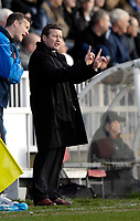 Photo: Jed Wee/Sportsbeat Images.<br /> Hartlepool United v Hereford United. Coca Cola League 2. 03/03/2007.<br /> <br /> Hartlepool manager Danny Wilson.