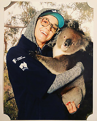 """Katy Perry releases a photo on Instagram with the following caption: """"i\u2019d like u to kno murray smelled like a spa cause he eats eucalyptus leaves all day \ud83d\udc28\ud83c\udf3f #clelandwildlifepark"""". Photo Credit: Instagram *** No USA Distribution *** For Editorial Use Only *** Not to be Published in Books or Photo Books ***  Please note: Fees charged by the agency are for the agency's services only, and do not, nor are they intended to, convey to the user any ownership of Copyright or License in the material. The agency does not claim any ownership including but not limited to Copyright or License in the attached material. By publishing this material you expressly agree to indemnify and to hold the agency and its directors, shareholders and employees harmless from any loss, claims, damages, demands, expenses (including legal fees), or any causes of action or allegation against the agency arising out of or connected in any way with publication of the material."""