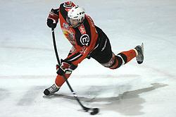 Andrej Herbar (84) at ice hockey match Acroni Jesencie vs EC Pasut VSV. in EBEL League,  on November 23, 2008 in Arena Podmezaklja, Jesenice, Slovenia. (Photo by Vid Ponikvar / Sportida)