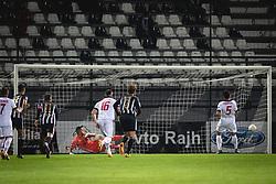 Goal for Aluminij during football match between NS Mura and Aluminij in 7th Round of Prva liga Telekom Slovenije 2020/21, on October 18, 2020 in Mestni stadion Fazanerija, Murska Sobota, Slovenia. Photo by Blaž Weindorfer / Sportida
