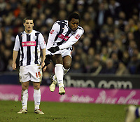 Photo: Rich Eaton.<br /> <br /> West Bromwich Albion v Preston North End. Coca Cola Championship. 26/12/2006. Nathan Ellington #9 right scores in the second half to make it 3-2 to West Brom
