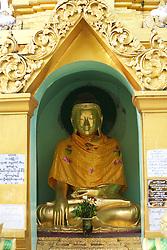 Buddha, Shwedagon Pagoda