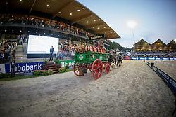 Heineken carriage<br /> CDIO5 Grand Prix Freestyle <br /> CHIO Rotterdam 2014<br /> © Dirk Caremans