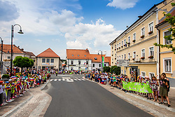 Fans during 1st Stage of 27th Tour of Slovenia 2021 cycling race between Ptuj and Rogaska Slatina (151,5 km), on June 9, 2021 in Sports park Kranj, Kranj, Slovenia. Photo by Vid Ponikvar / Sportida