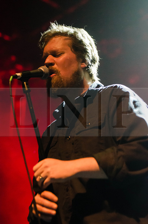 © Licensed to London News Pictures. 15/05/2013. London, UK.   John Grant performing live at Shepherds Bush Empire.  John Grant  is an American singer-songwriter. Formerly associated with the Denver-based alternative rock band The Czars in the 1990s and early 2000s, he launched a career as a solo artist in 2010. Photo credit : Richard Isaac/LNP