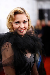 """Madonna attends the New York Premiere of """"W.E."""" hosted by The Cinema Society,  Forevermark and The Weinstein Company, held at the Ziegfeld Theater in New York City, NY, USA on January 23, 2012. Photo by Graylock/ABACAPRESS.COM    305662_013 New York City Etats-Unis United States"""