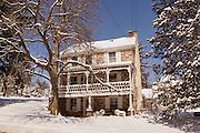 Homestead, winter snow, Cumru Township, Berks Co., PA