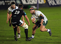 Rugby Union - 2020 / 2021 ER Challenge Cup - Quarter-final - Bath vs London Irish - The Recreation Ground<br /> <br /> Ollie Hoskins of London Irish <br /> <br /> Credit : COLORSPORT/ANDREW COWIE