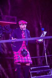 Sanjeev Kohli. Edinburgh's Hogmanay Street Party, Sunday 31st December.