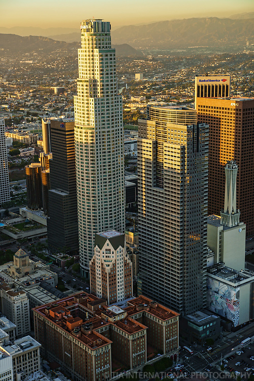 US Bank Tower, Gas Company Tower & Biltmore Hotel
