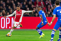 13-03-2019 NED: Ajax - PEC Zwolle, Amsterdam<br /> Ajax has booked an oppressive victory over PEC Zwolle without entertaining the public 2-1 / Zakaria Labyad #19 of Ajax