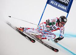 22.12.2013, Gran Risa, Alta Badia, ITA, FIS Ski Weltcup, Alta Badia, Riesenslalom, Herren, 1. Durchgang, im Bild Victor Muffat-Jeandet (FRA) // Victor Muffat-Jeandet of France in action during mens Giant Slalom of the Alta Badia FIS Ski Alpine World Cup at the Gran Risa Course in Alta Badia, Italy on 2012/12/22. EXPA Pictures © 2013, PhotoCredit: EXPA/ Johann Groder
