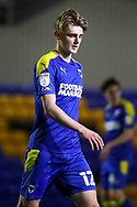 AFC Wimbledon midfielder Jack Rudoni (12)walking off the pitch during the EFL Sky Bet League 1 match between AFC Wimbledon and Gillingham at Plough Lane, London, United Kingdom on 23 February 2021.