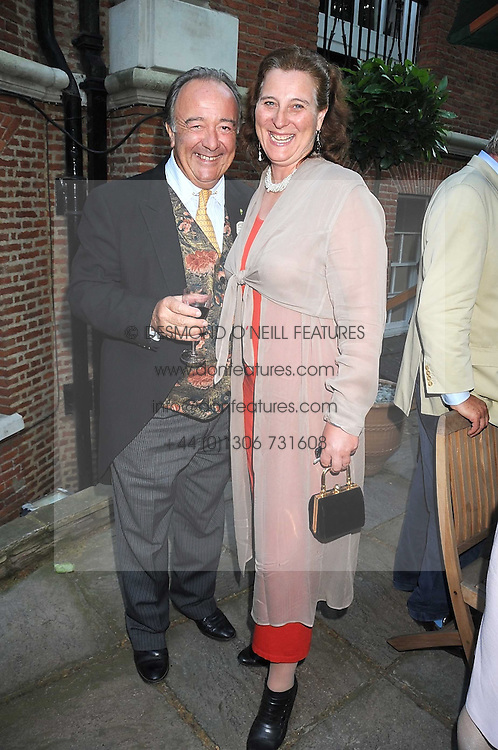 SIR DAI LLEWELLYN and PRINCESS KATARINA OF YUGOSLAVIA at a party to celebrate the publication on 'Unsuitable' by Suzy Parsons held at St.Stephen's Club, 34 Queen Anne's Gate, London SW1 on 19th June 2008<br /><br />NON EXCLUSIVE - WORLD RIGHTS